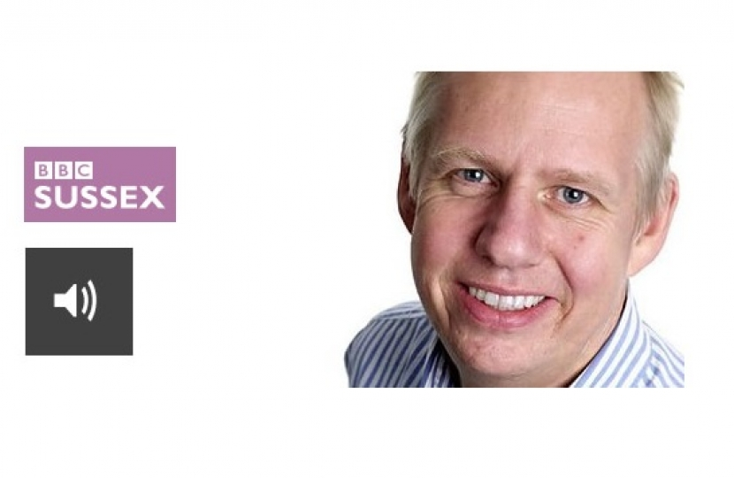 Neil Pringle BBC Radio Sussex Interview