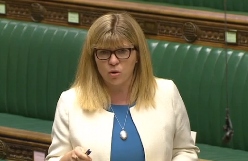 Maria Caulfield speaking in the chamber