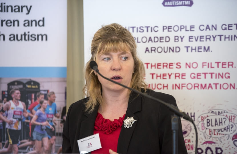 Maria Caulfield MP Autism Inquiry