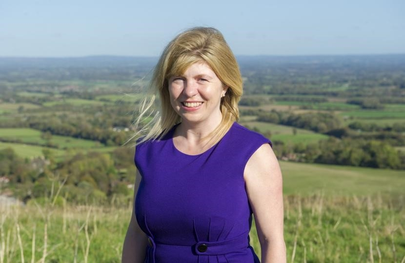 Maria Caulfield in the Lewes Constituency