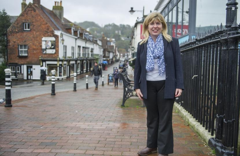 Maria Caulfield in Lewes