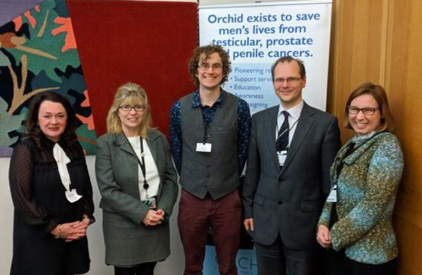 Maria Caulfield meets with experts at the APPG on Male Cancers
