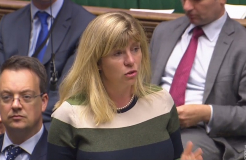 Maria Caulfield in the House of Commons