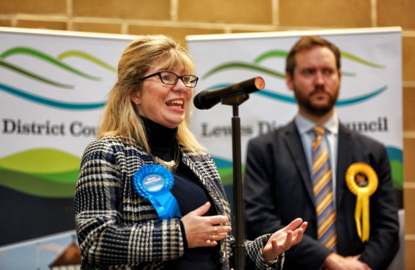 Maria Caulfield Election Lewes