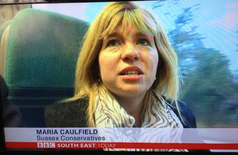 Being interviewed by the BBC