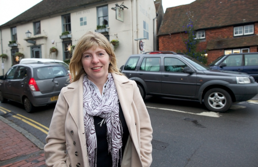 Maria Caulfield in Ditchling