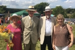 Maria Caulfield and Peter Field at Bishopstone Fair